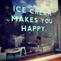 Ice Cream Makes you Happy
